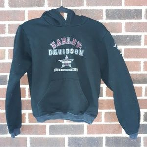 Harley-Davidson Black Sweatshirt Size Small Child